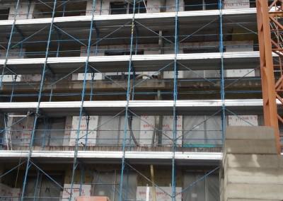 Nastup na realizaciu fasad juh