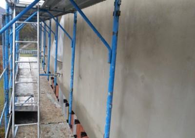 Nastup na realizaciu fasad vychod